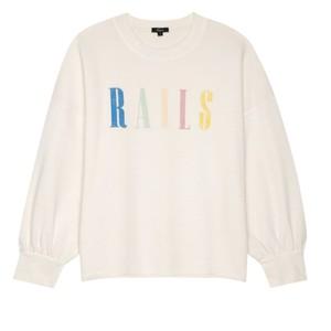 Rails Rails Signature Sweatshirt in Ivory