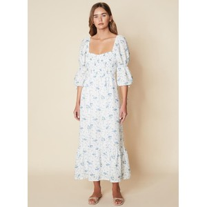 Faithfull The Brand Marita Midi Dress in Astoria Floral Print