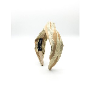 Camilla King Gold Zebra Headband