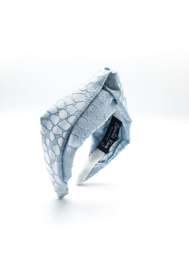Camilla King Ice Blue Bonbon Headband Blue