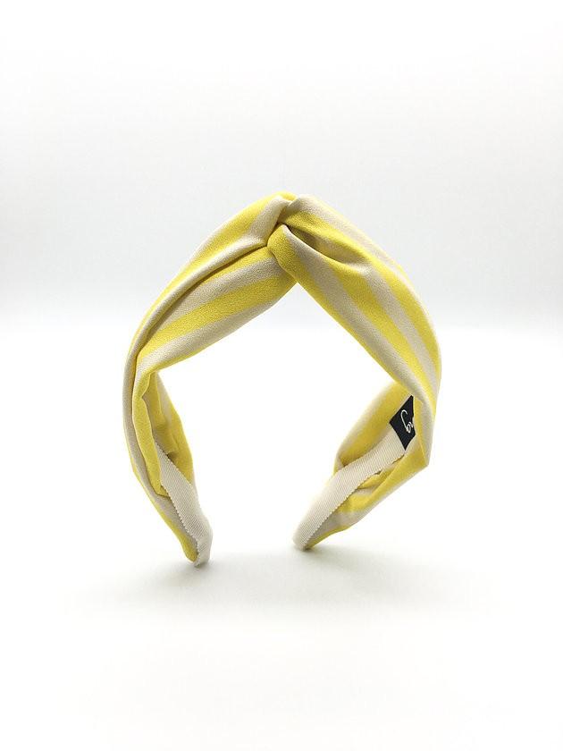 Camilla King Lemon Sherbert Headband Yellow