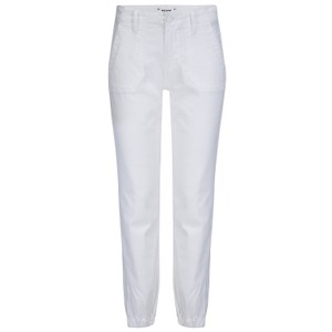 Paige Mayslie Jogger in White