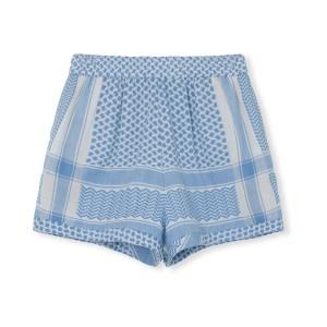 Cecilie Copenhagen Handloom Shorts in Denim