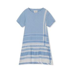 Cecilie Copenhagen Dress 2 O Short Sleeve in Denim