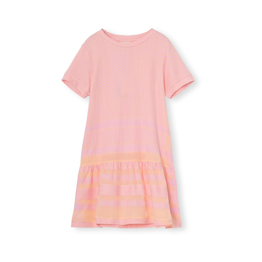 Cecilie Copenhagen Dress 2 O Short Sleeve in Dogwood Pink