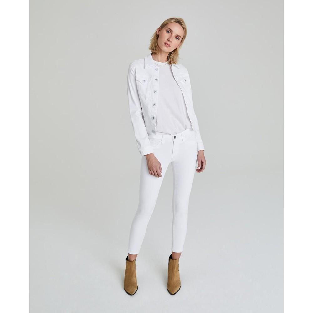 AG Jeans Robyn Denim Jacket in White White