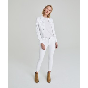 AG Jeans Robyn Denim Jacket in White