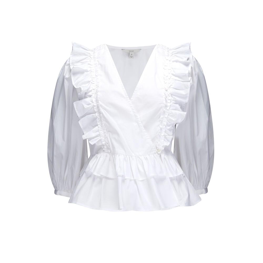Joie Nellis Clean White Blouse White