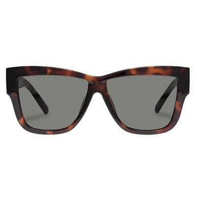 Le Specs Total Eclipse Sunglasses in Tort Brown