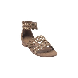 Sofie Schnoor Cut Out Sandals in Nude