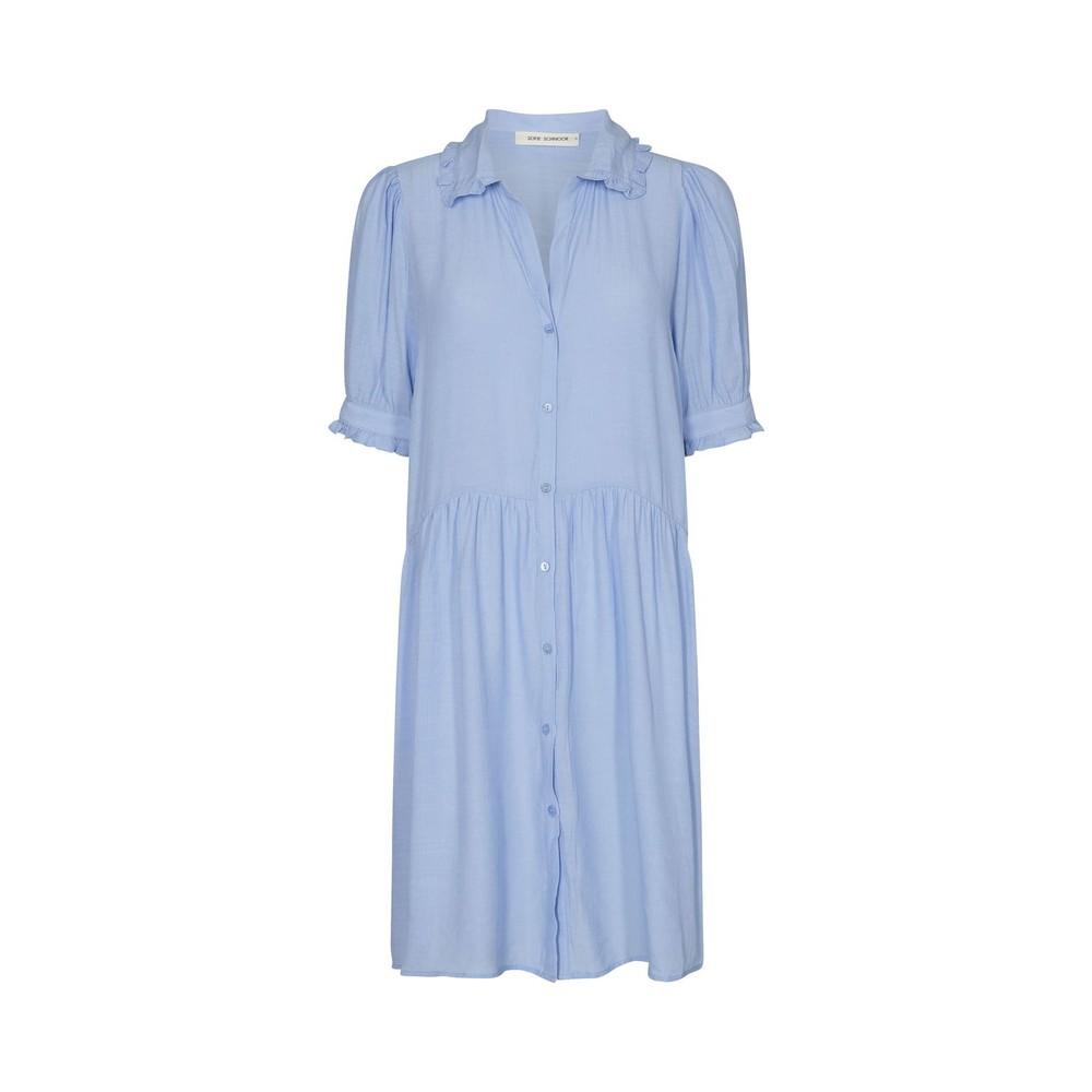 Sofie Schnoor Shirt Dress in Blue Blue