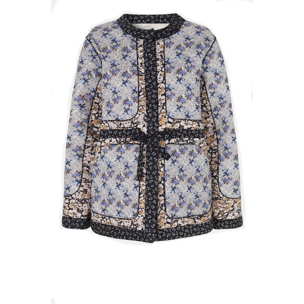 Second Female Weekend Quilt Jacket Blue