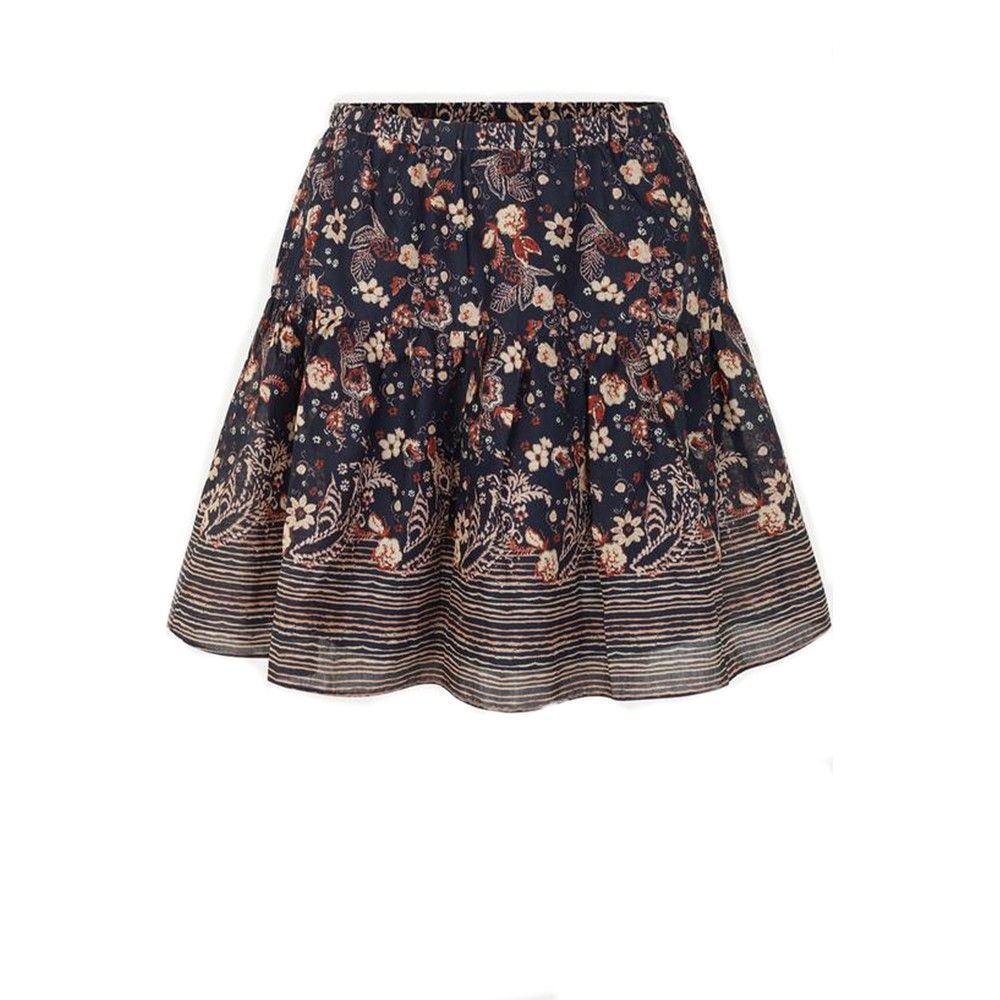 Second Female Malta Skirt in Outer Space Black