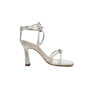 Flattered Rachel Off White Leather Heels