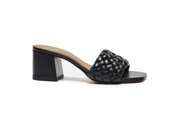 Flattered Odessa Heels Black