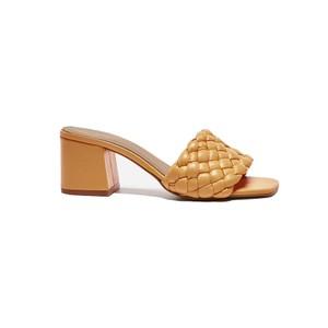 Flattered Odessa Heels in Orange