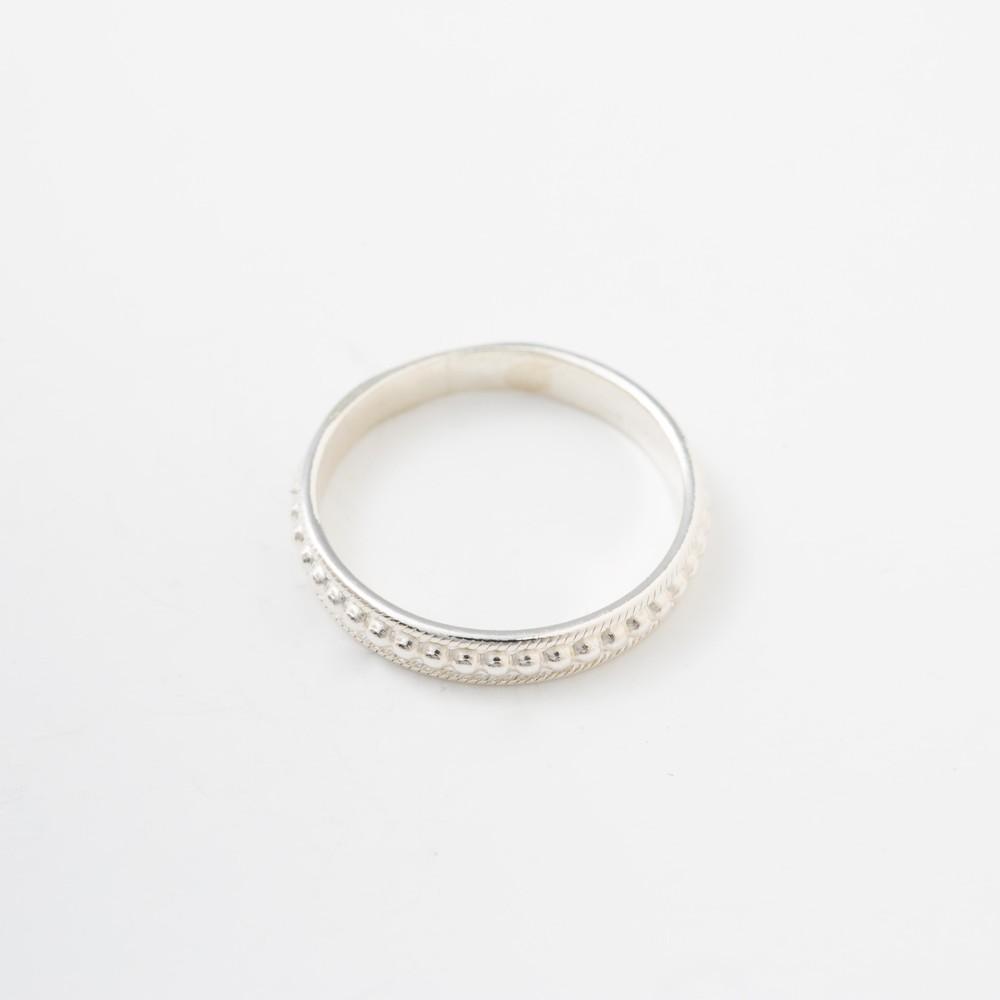 Tippi Wainwright Stacking Ring Silver