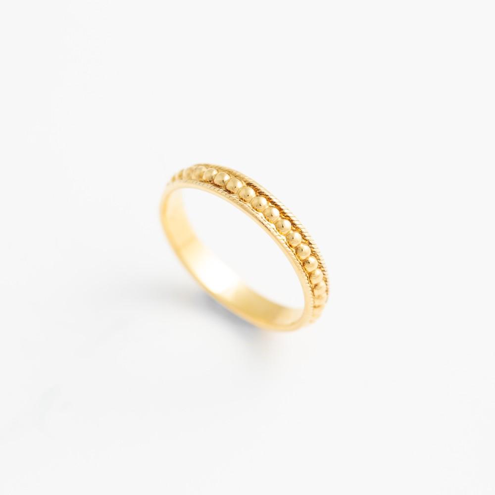 Tippi Wainwright Stacking Ring Gold