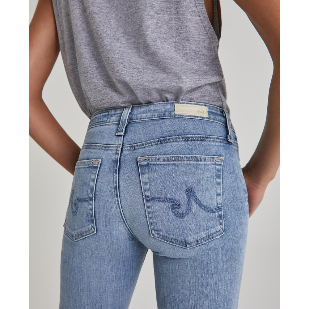 AG Jeans Prima Ankle Jeans in 20 Year Ballot Mid Denim
