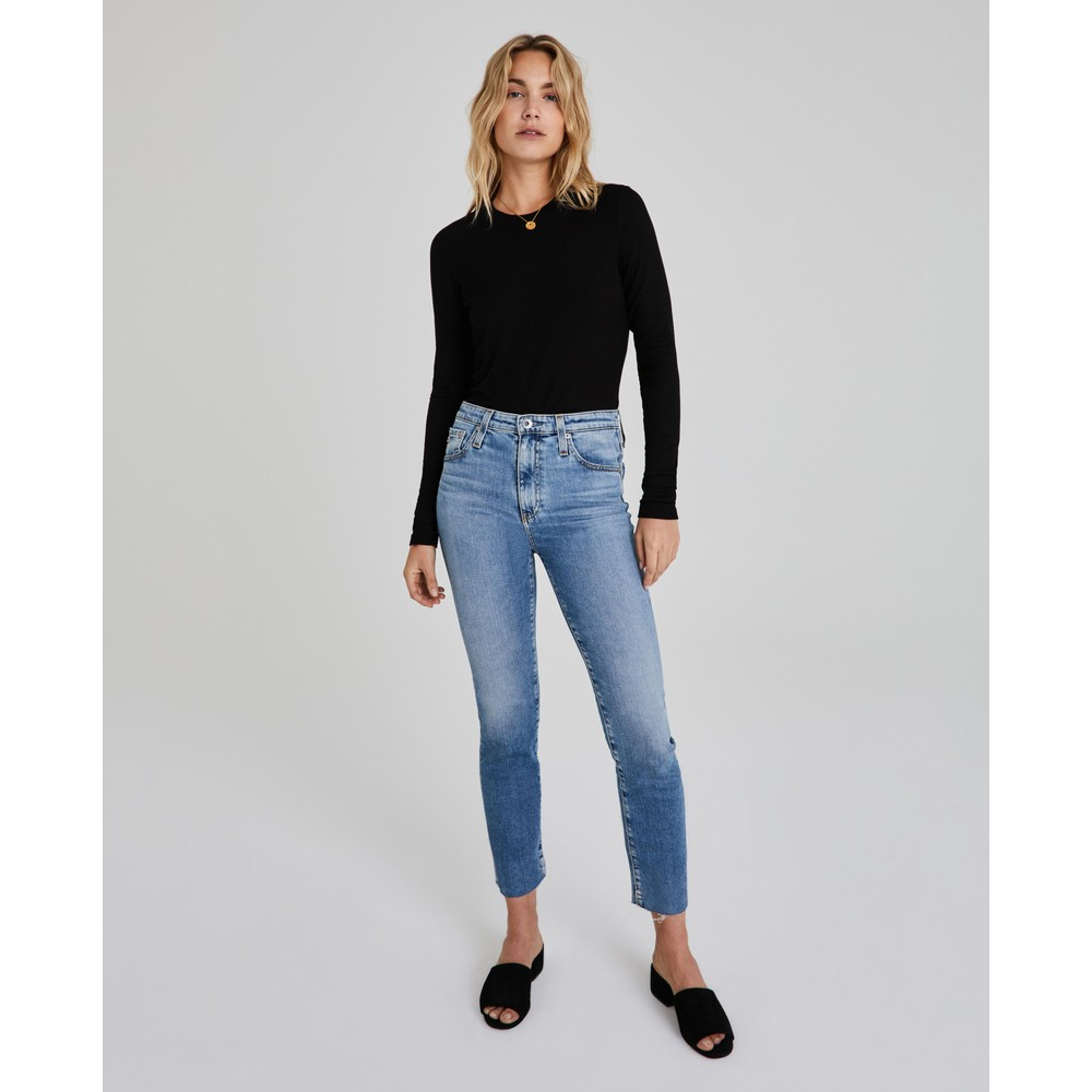 AG Jeans Isabelle Jeans in 20 Year Mid Denim