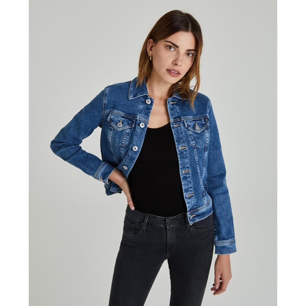 AG Jeans Robyn Denim Jacket in Prosperity Mid Denim