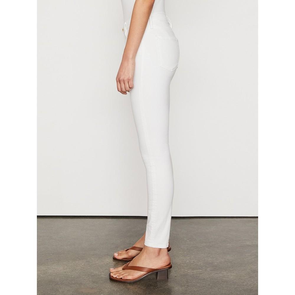 Frame Denim Le Color Jeans in White White