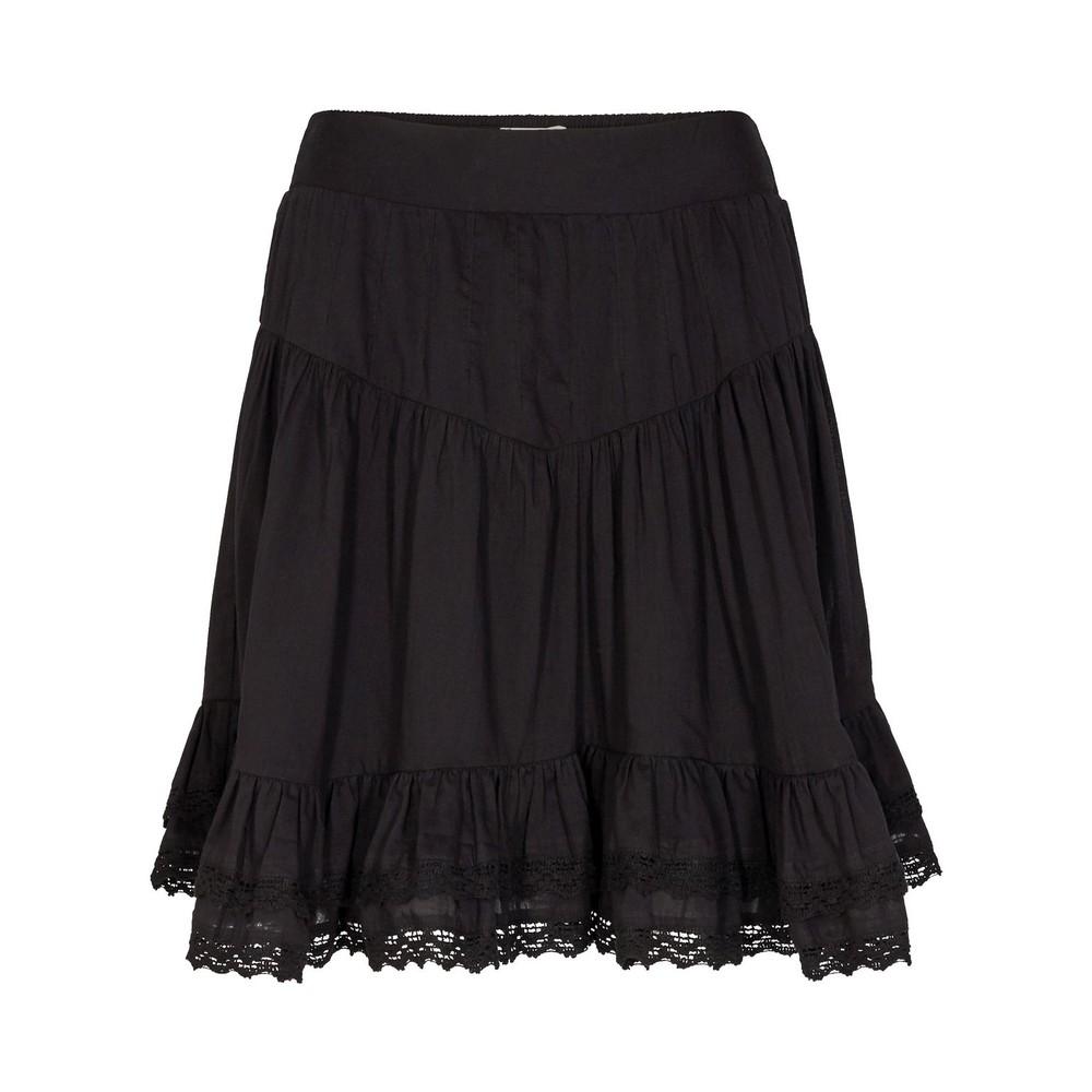 Sofie Schnoor Black Ruffle Skirt Black