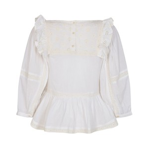 Sofie Schnoor White Broderie Anglaise Blouse