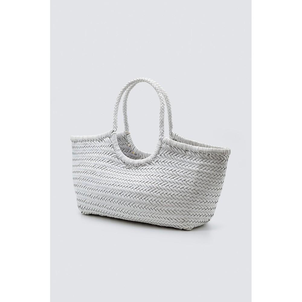 Dragon Diffusion Nantucket Big Basket Bag White