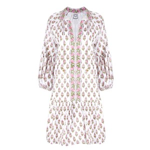 Neve and Noor Mimi Dress in Floral Blush