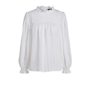 Set Smocked Blouse in White