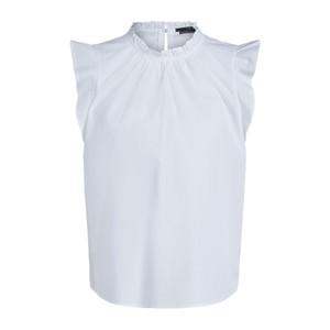 Set Feminine Top with Ruffles in White