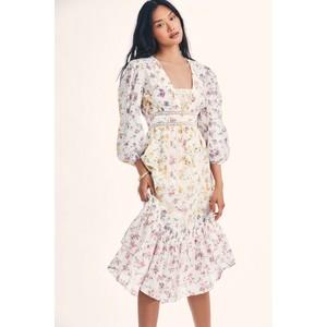 LoveShackFancy Garrison Dress in Fruit Bliss