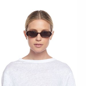 Le Specs Outta Love Sunglasses in Tort