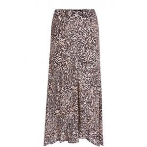 Set Animal Printed Skirt