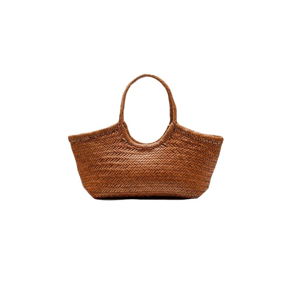 Dragon Diffusion Nantucket Big Basket Bag in Tan Brown