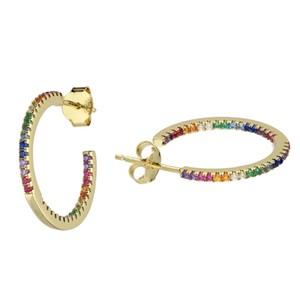 Sophie Lis Calypso Rainbow Hoops