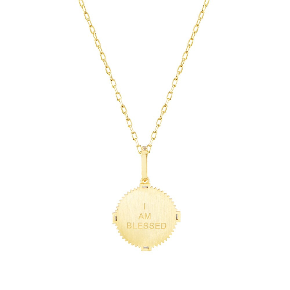Celeste Starre I Am Blessed Necklace None