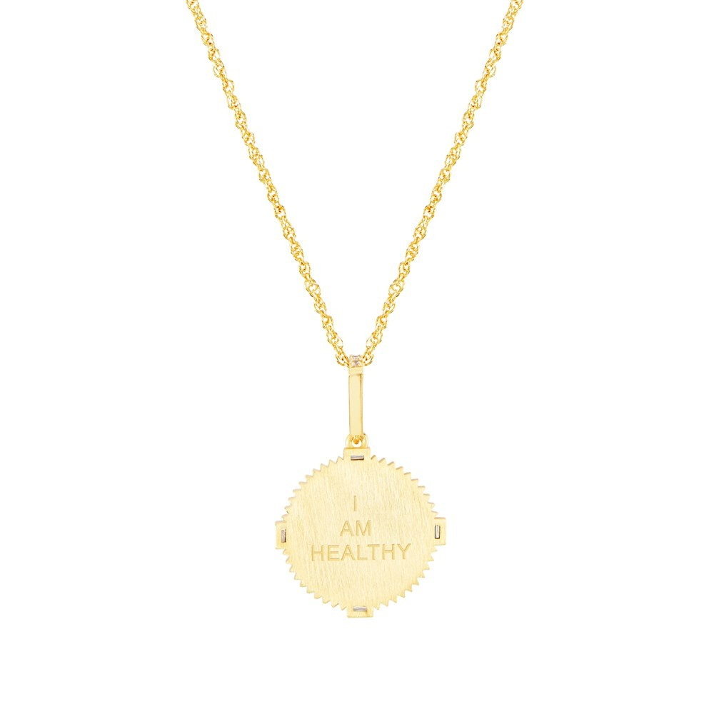 Celeste Starre I Am Healthy Necklace None