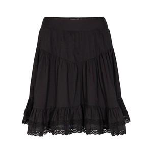 Sofie Schnoor Black Ruffle Skirt