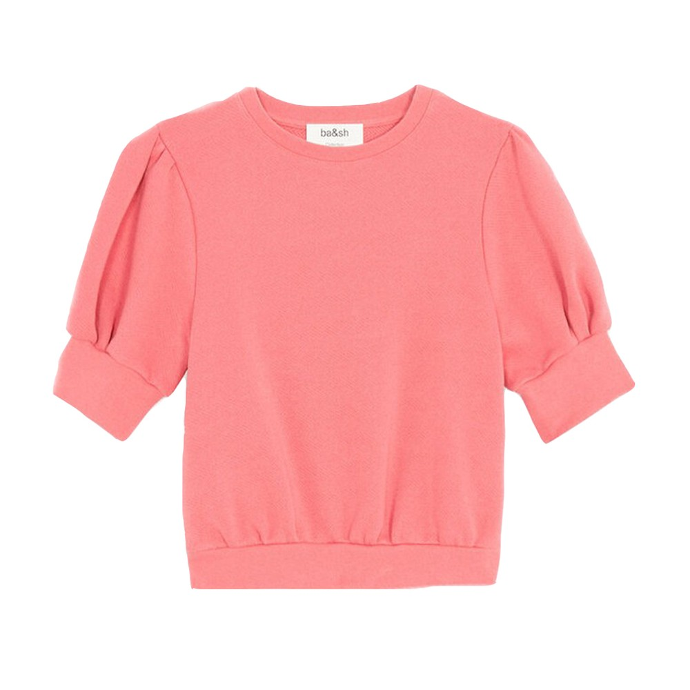 Ba&sh Tael Sweatshirt in Rose Pink