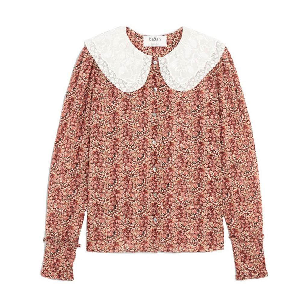 Ba&sh Ingrid Shirt Pink