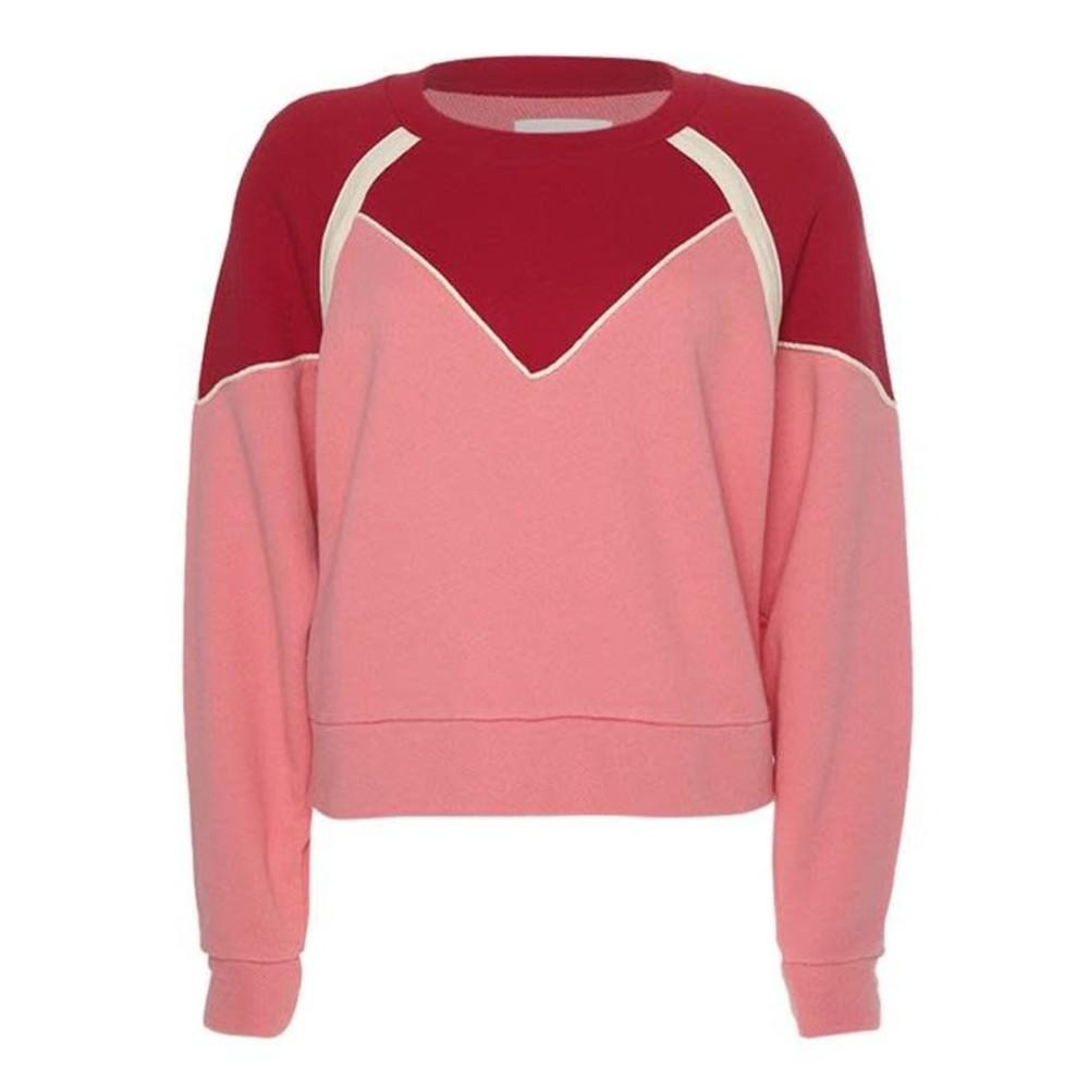 Ba&sh Brick Sweat in Rose Pink