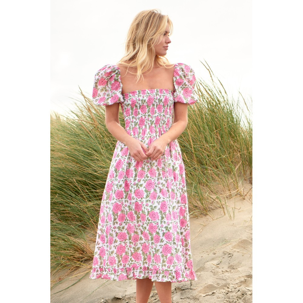 Neve and Noor Ava Dress in Roses Pink