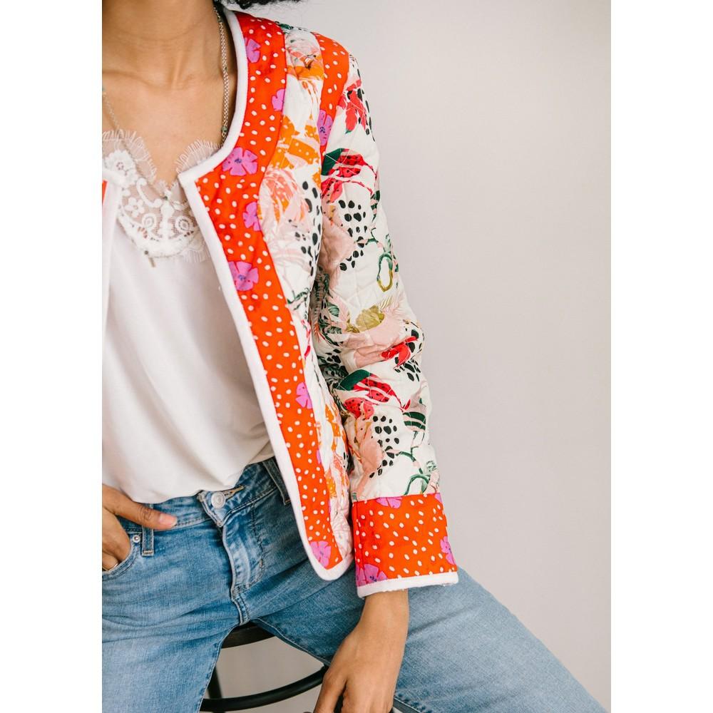 Pyrus Juno Printed Jacket Multicoloured