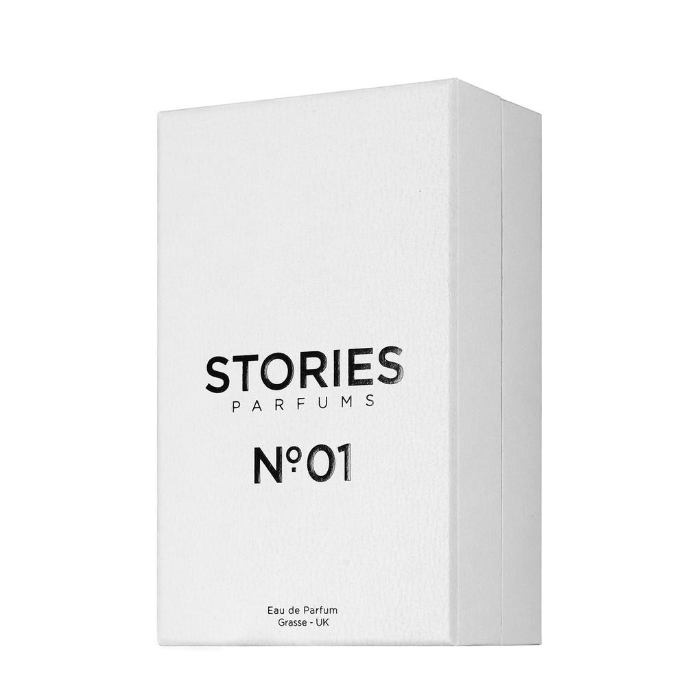 Stories Parfums Stories No 01 Parfum 30ML Black and White