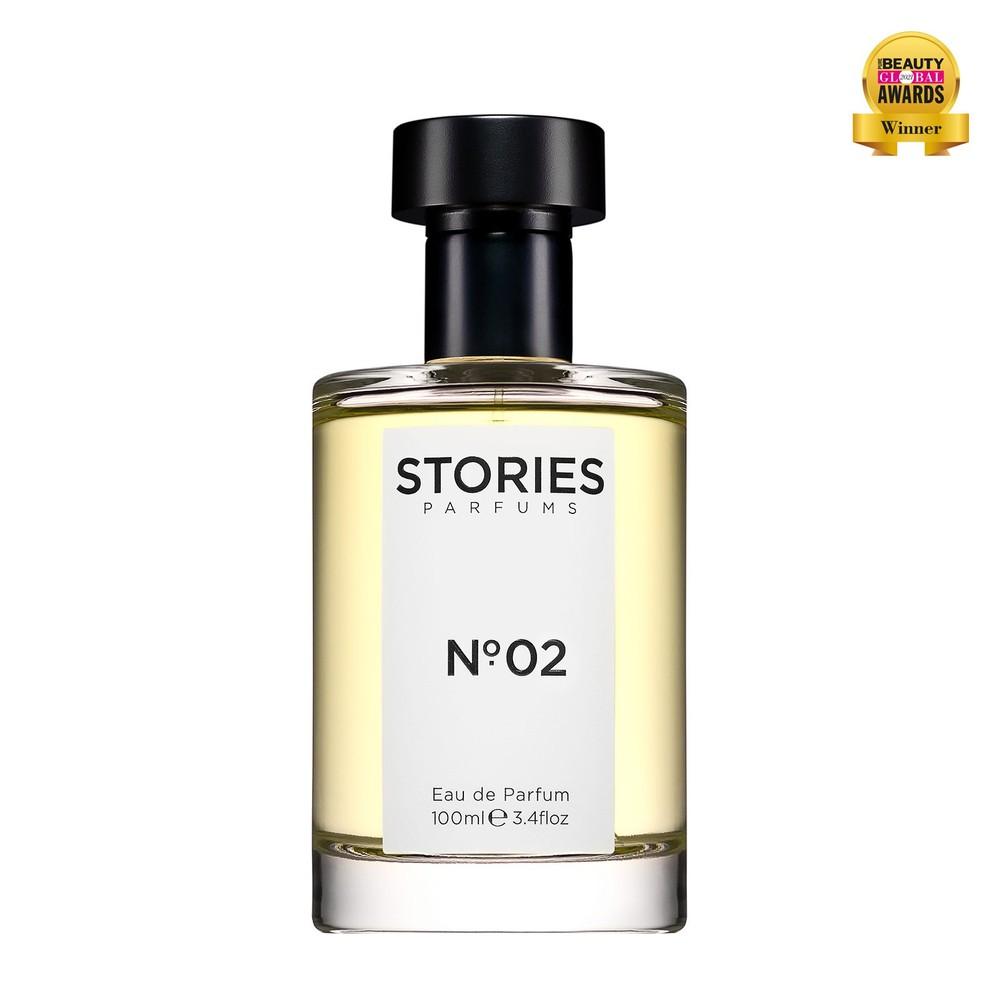 Stories Parfums Stories No 02 Parfum 100ML Black and White