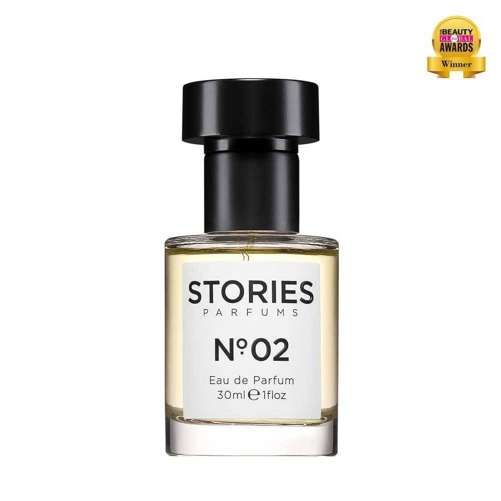 Stories Parfums Stories No 02 Parfum 30ML Black and White