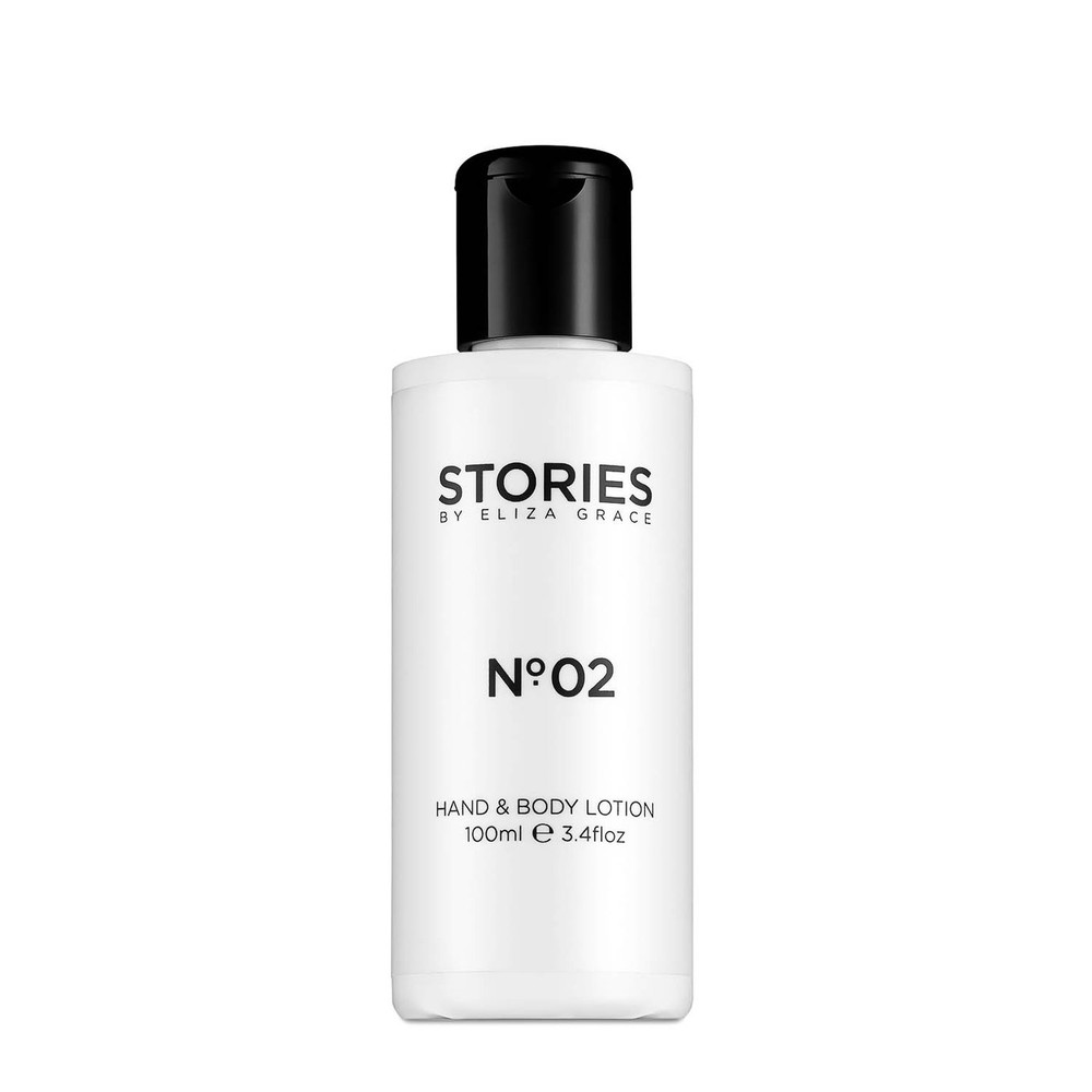 Stories Parfums Stories No 02 Hand and Body Lotion 100ML Black and White