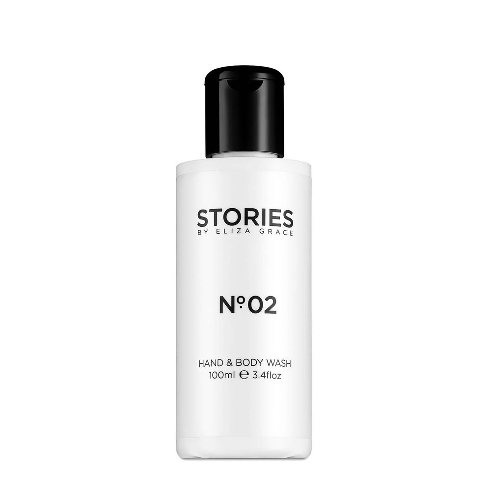 Stories Parfums Stories No 02 Hand and Body Wash 100ML Black and White
